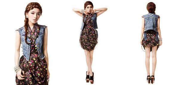 Платье - 4000 Жилетка - 3000. Изображение № 24.