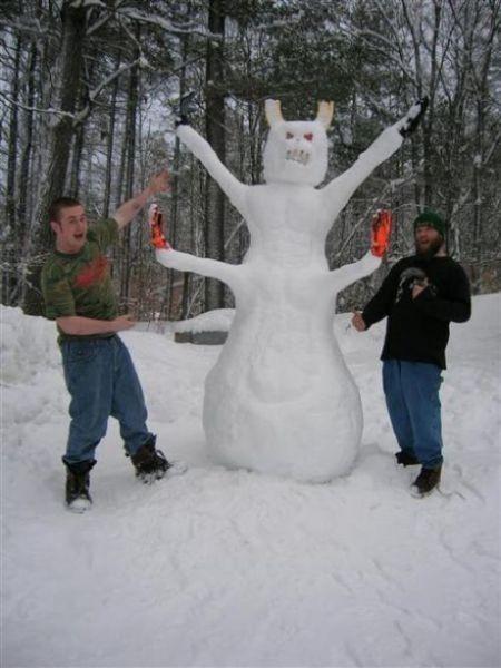 Мужичок - Снеговичек. Изображение № 8.