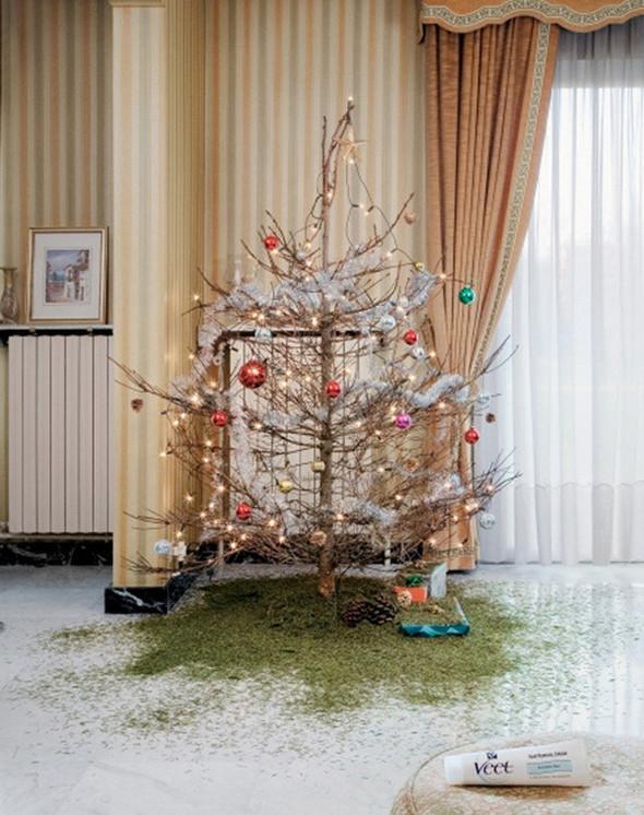 Новогоднее - Рождественский креатив в рекламе. Изображение № 9.