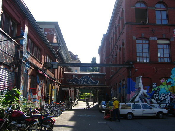 Изображение 6. Стрит-арт в Цюрихе.. Изображение № 6.