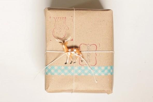 55 идей для упаковки новогодних подарков. Изображение № 2.