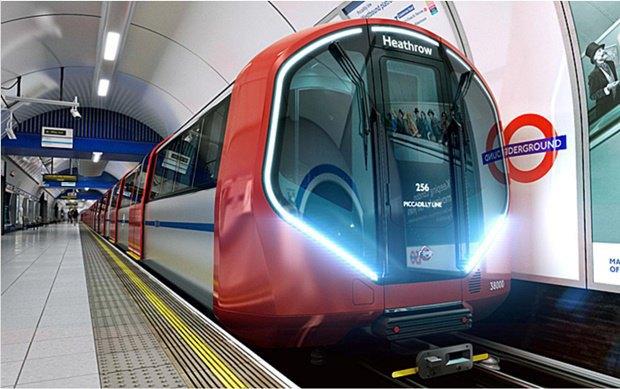 Фото: футуристические поезда метро в Лондоне. Изображение № 4.