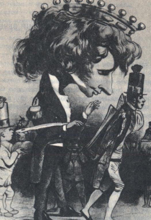 Карикатуры на писателей. Изображение № 43.