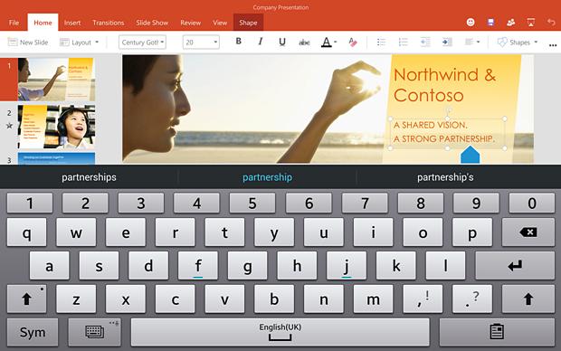 Office для планшетов на Android. Изображение № 7.