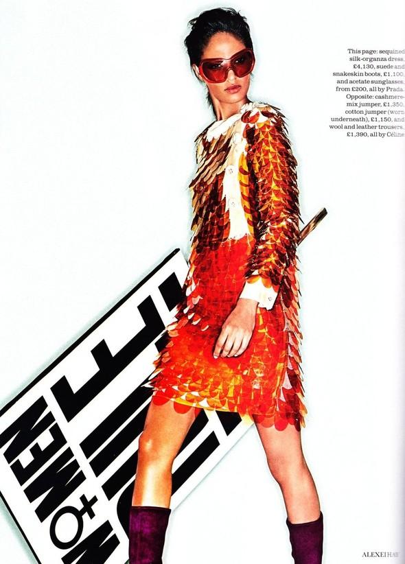 Съёмка: Джоан Смоллс для Elle. Изображение № 3.