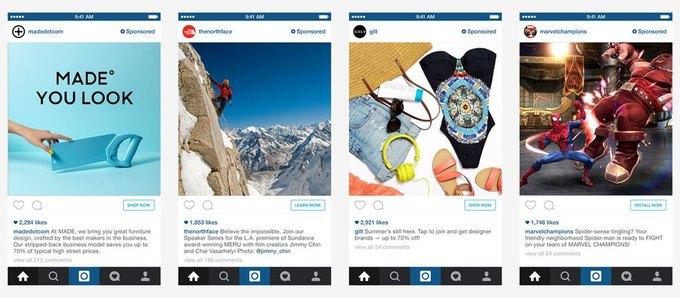 В Instagram появятся 30-секундные рекламные ролики . Изображение № 1.