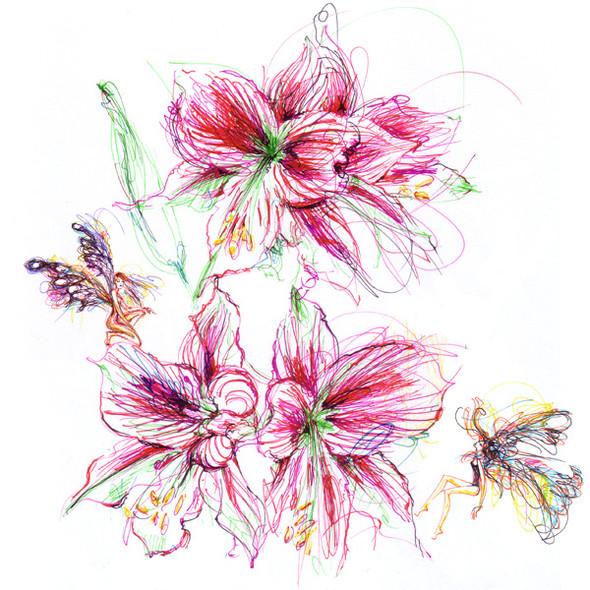 Иллюстрации Antoinette-Fleur. Изображение № 5.