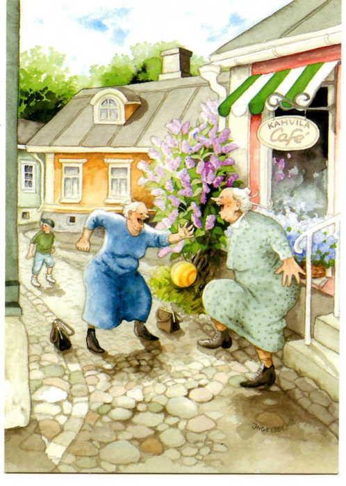 Inge Lооk - и развесёлые бабульки. Изображение № 4.