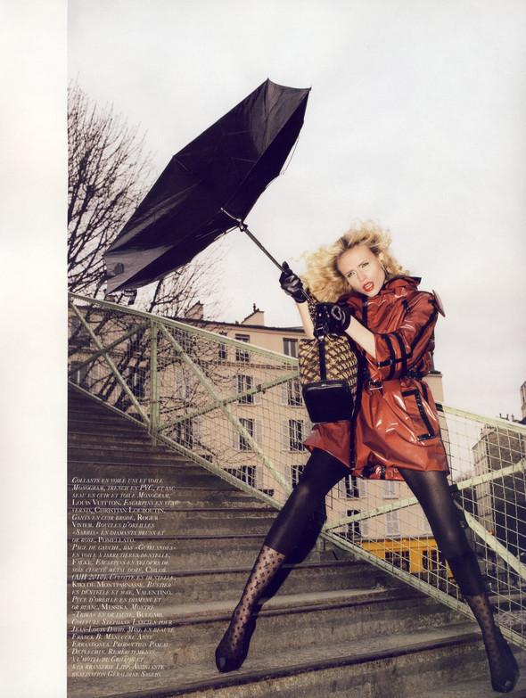 """""""TOUTES JAMBES"""" Vogue Paris JuneJuly 2009. Изображение № 10."""