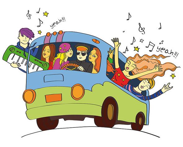 Веселый автобус. Изображение № 1.