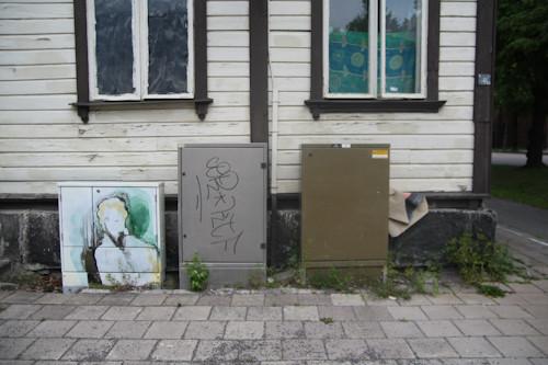 Суровый финский стрит-арт или что викинги рисуют на стенах?. Изображение № 6.