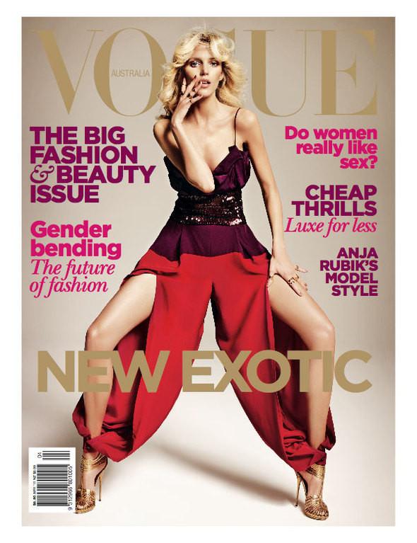 Изображение 1. Обложки Vogue: Австралия, Италия, Латинская Америка и Турция.. Изображение № 1.