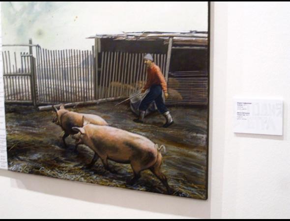 """Выставка в деталях: Молодые художники на """"Сегодня/Завтра"""". Изображение № 4."""
