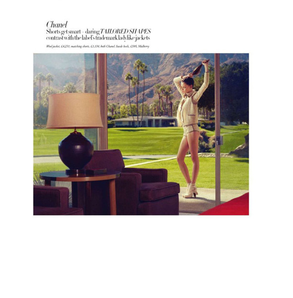 Изображение 3. Съемки: Harper's Bazaar, Metal, V и Vogue.. Изображение № 3.