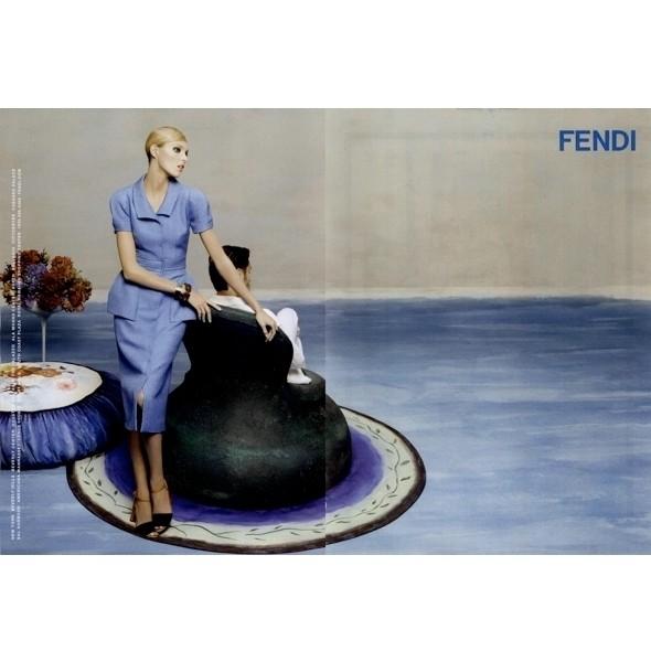 Изображение 3. Рекламные кампании: Fendi, Pepe Jeans и Trussardi 1911.. Изображение № 3.