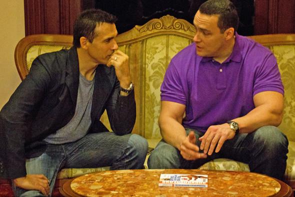 Эндриан Пол и Александр Невский в Korston Hotel Moscow. Изображение № 7.