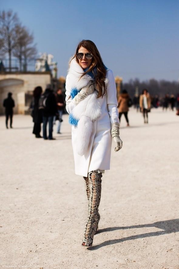 Анна Делло Руссо, фото из блога Carolines Mode. Изображение № 37.