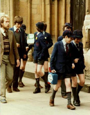 Британские школьники, 1970-ые. Изображение №2.