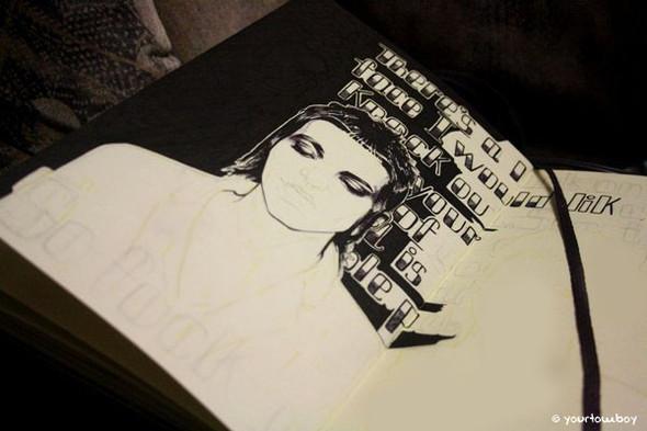 Я люблю черную ручку. Изображение №6.