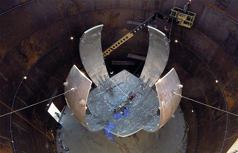 Как выглядит комплекс с самыми мощными лазерами в мире. Изображение № 2.