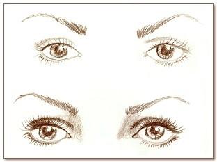Макияж глаз взависимости отих формы. Мастер-класс. Изображение № 2.