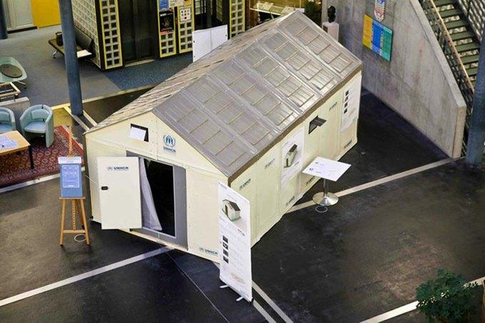 IKEA спроектировала дома на солнечных батареях для беженцев  . Изображение № 3.