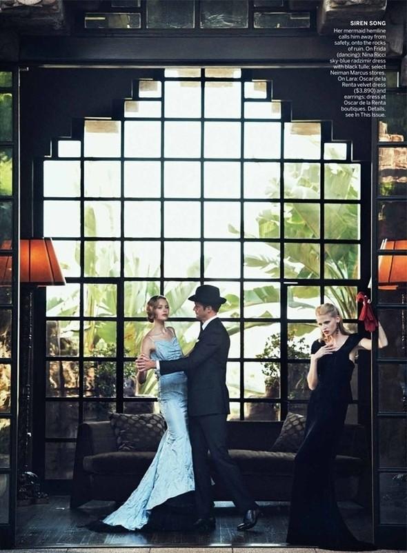 Изображение 44. Съёмки: Harper's Bazaar, Vogue, W и другие.. Изображение № 43.