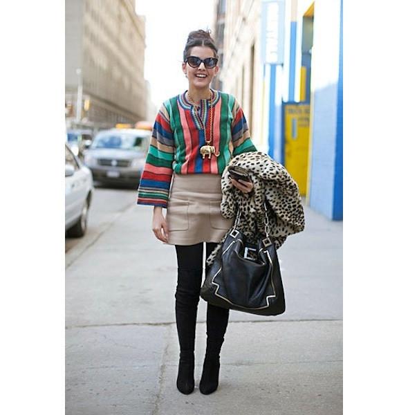 Изображение 104. На полях: 10 тенденций уличного стиля с прошедших недель моды.. Изображение № 104.