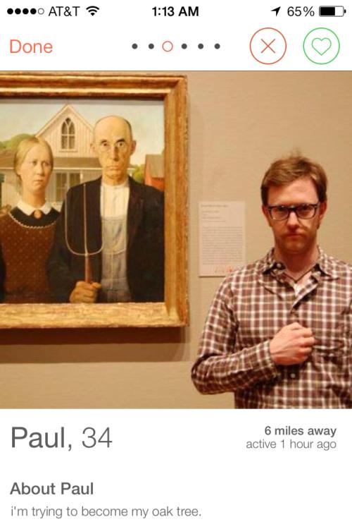 Тест дня: на фоне какого искусства фотографируются мужчины из Tinder. Изображение № 17.