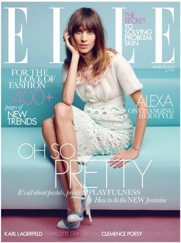 Обложки: i-D, Elle, Purple Fashion и другие. Изображение № 3.