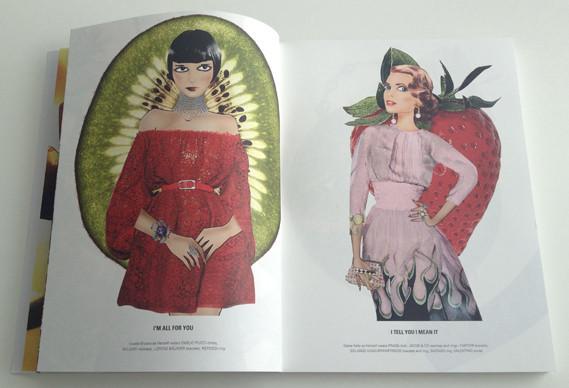 Журнал о моде Herself: только иллюстрации и никаких фотографий. Изображение № 8.