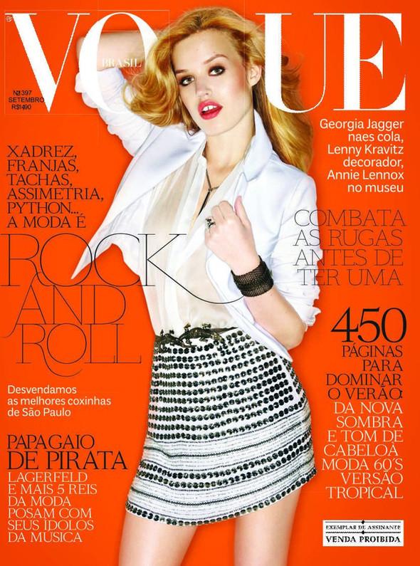 Обложки Vogue: Бразилия, Индия и Япония. Изображение № 1.