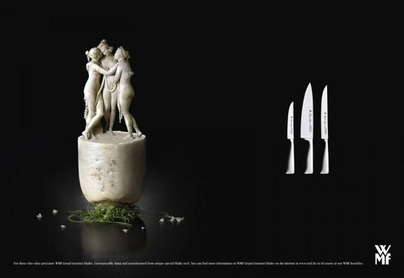 Креативная реклама ножей. Изображение № 1.