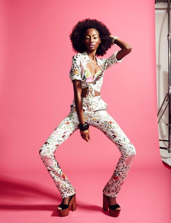Съёмка: Шена Малтон для Playing Fashion. Изображение № 1.