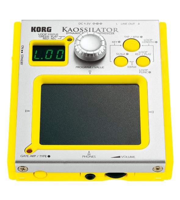 Карманный синтезатор Korg Kaossilator. Изображение № 1.