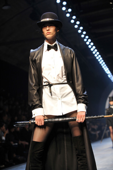 Jean Paul Gaultier for Hermes (fall-winter 2010). Изображение № 15.