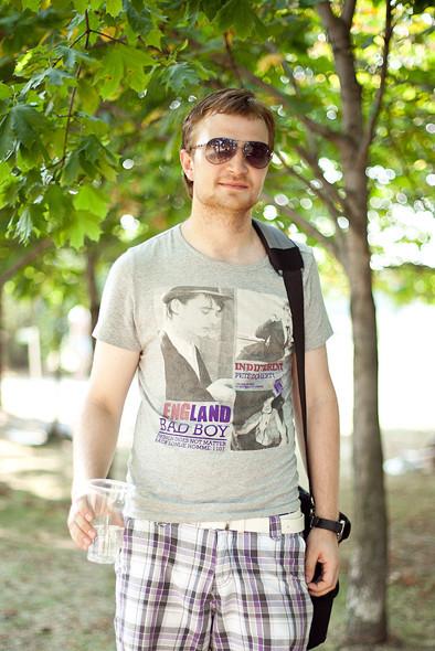 Изображение 12. Люди в футболках музыкальных групп на Пикнике «Афиши».. Изображение № 12.