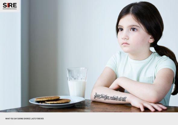 Изображение 6. Рекламная кампания: Дети и развод.. Изображение № 2.