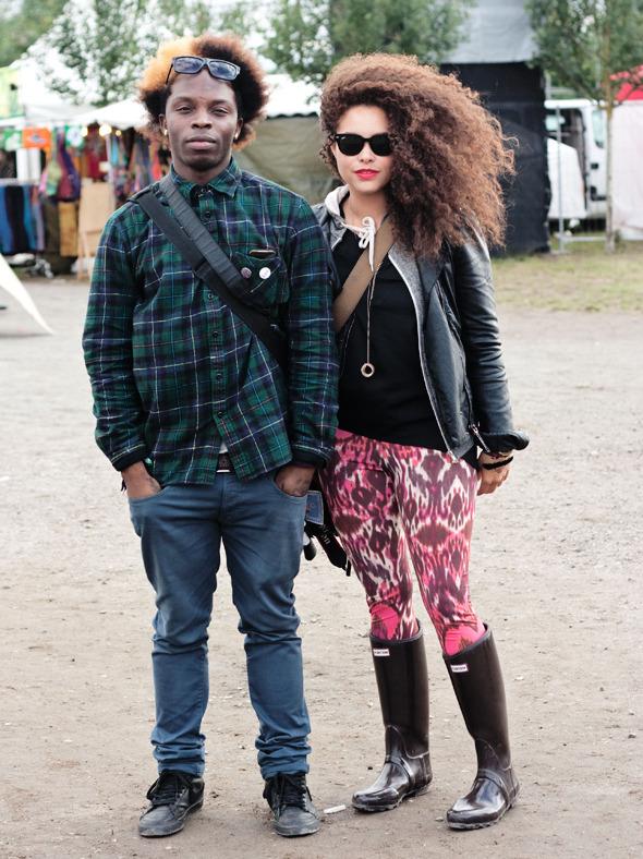 Золотые шорты, джинсовые рубашки и шляпы: Люди на фестивале MELT!. Изображение № 1.