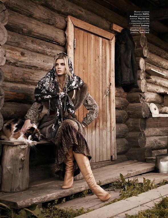 Съёмка: Марина Линчук для российского Vogue. Изображение № 4.