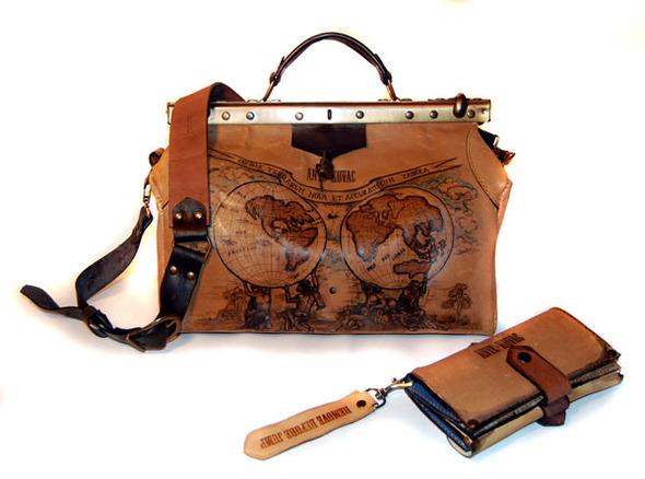 Кожаные мужские сумки - покупайте итальянские брендовые