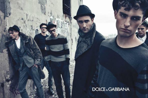 Мужские кампании: Fendi, Dolce & Gabbana и Ralph Lauren. Изображение № 10.