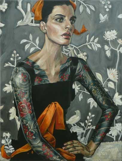 Belinda Eaton. Живые портреты. Изображение № 16.
