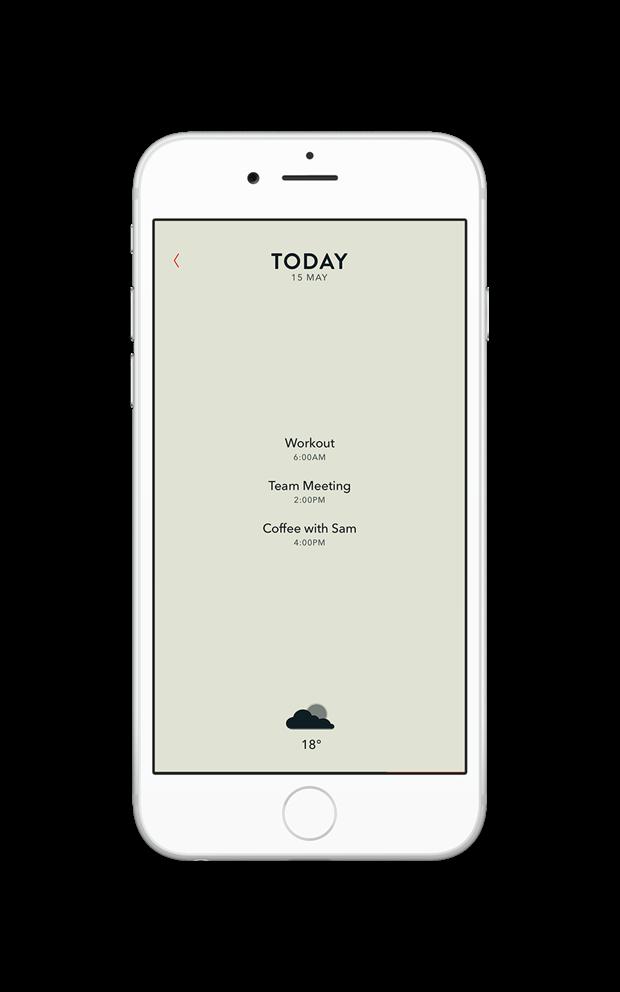 Moleskine выпустил календарь для iPhone и Watch. Изображение № 9.