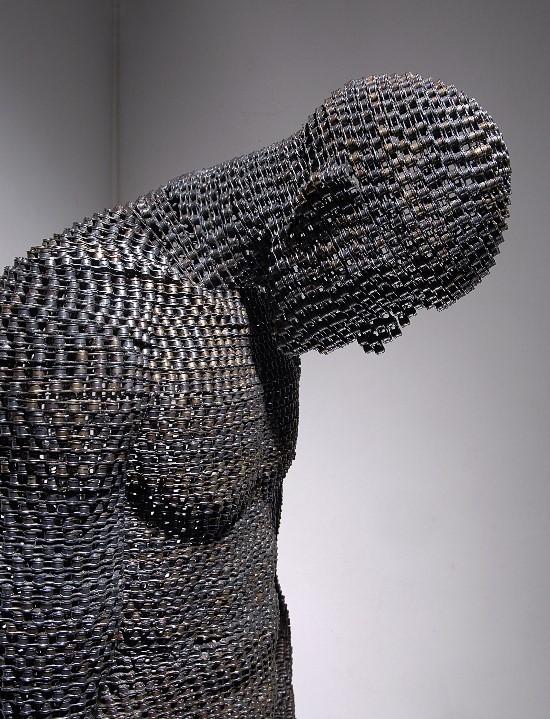 Скульптуры из цепей от Yeong-Deok Seo. Изображение № 6.