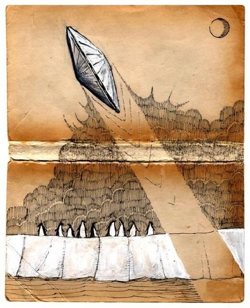 Jon Carling – мистерии в гелевой ручке. Изображение № 5.