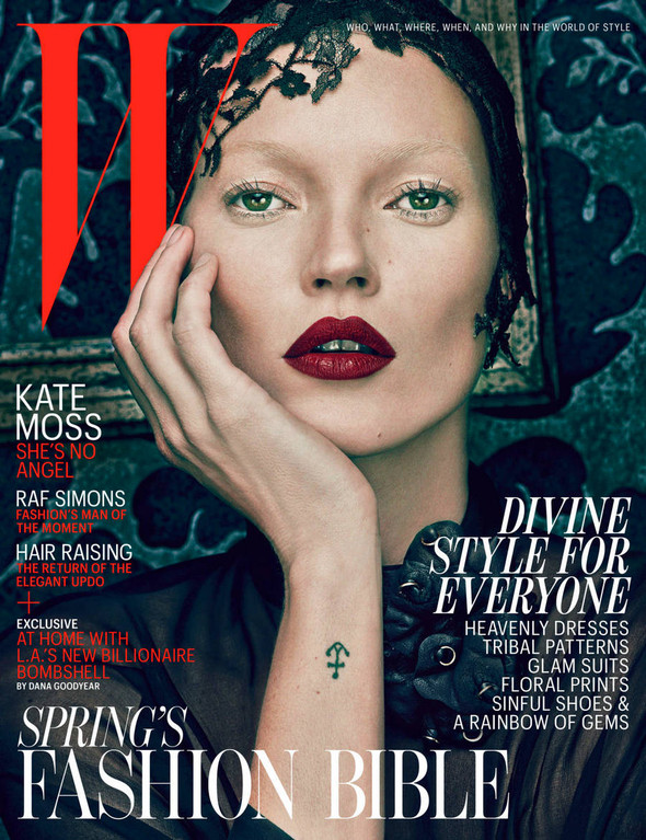 Kate Moss (КЕЙТ МОСС) для W Magazine. Изображение № 2.