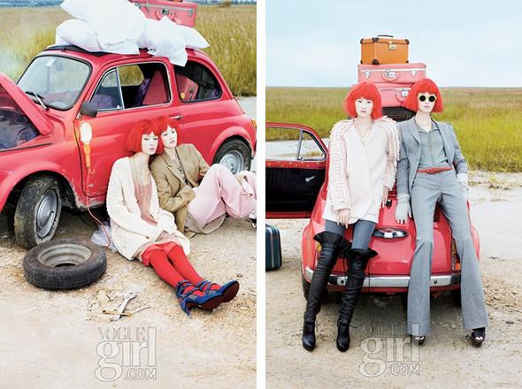 Новые лица: Хлое, Лорен и Со Янг. Изображение № 45.
