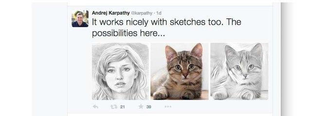 Нейронную сеть научили имитировать стили художников . Изображение № 3.