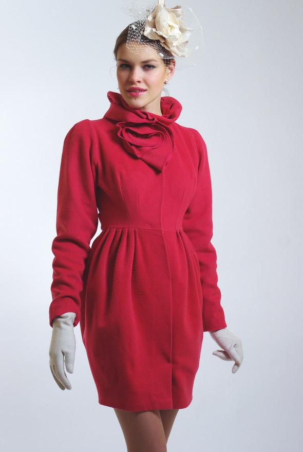 модные дизайнерские пальто 2011 фото